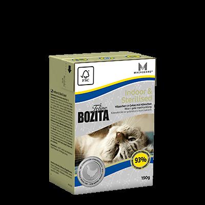 BOZITA INDOOR & STERILISED – CHUNKS IN JELLY