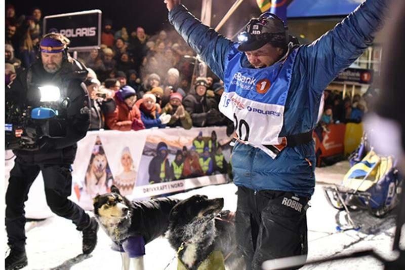 Petter Karlsson gewinnt Finnmarkslöpet 2018