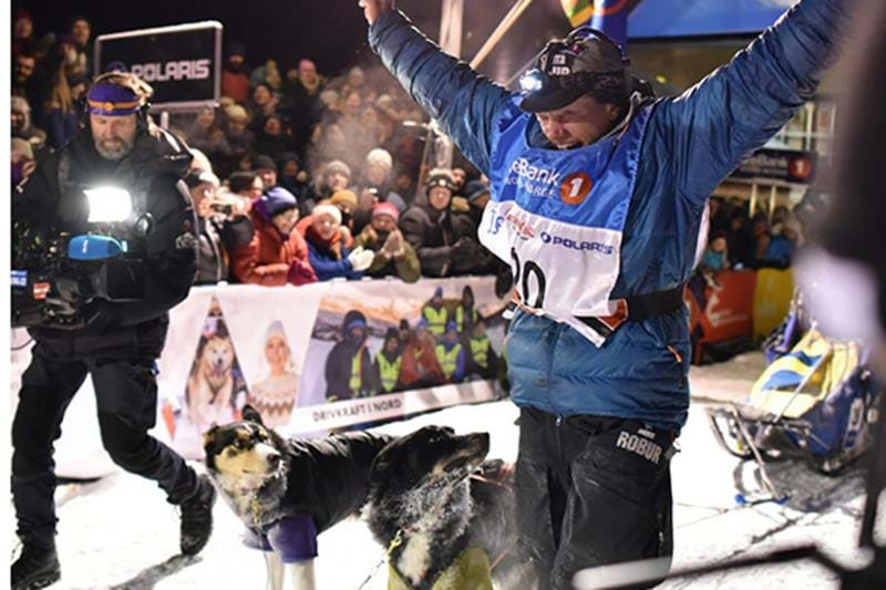 Petter Karlsson wins Finnmarkslöpet 2018