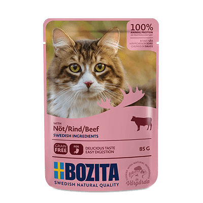 BOZITA WITH BEEF – CHUNKS IN SAUCE – POUCH