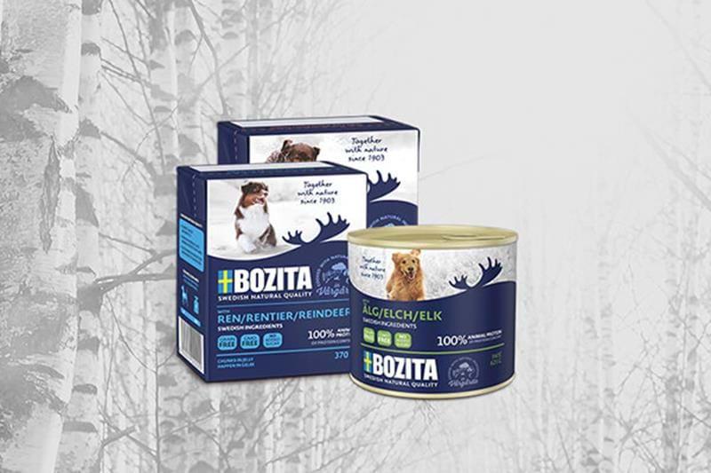 Bozita wet food for dogs
